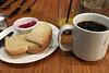 Deluxe Eatery Drinkery - Bread jelly coffee