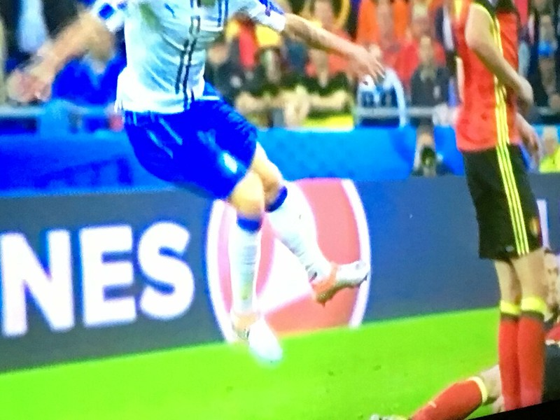 Belgium 0 - 2 Italy