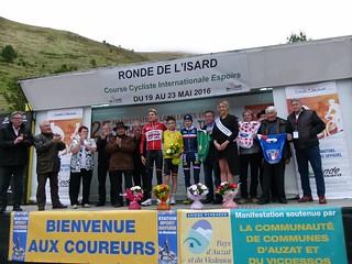 Steff CRAS (Team Lotto Soudal), Bjorg LAMBRECHT (Team Lotto Soudal), David GAUDU (Équipe de France)