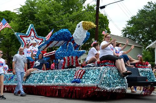 Shiny Parade Float