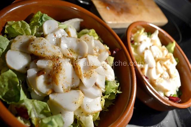 Seiche Poêlée au Pimenton de la Vera & Vinaigrette au Xérès  © Ana Luthi Tous droits réservés 09