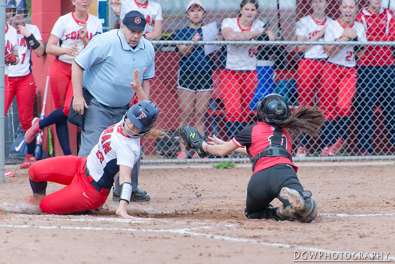 Foran High vs. Sacred Heart - High School Softball