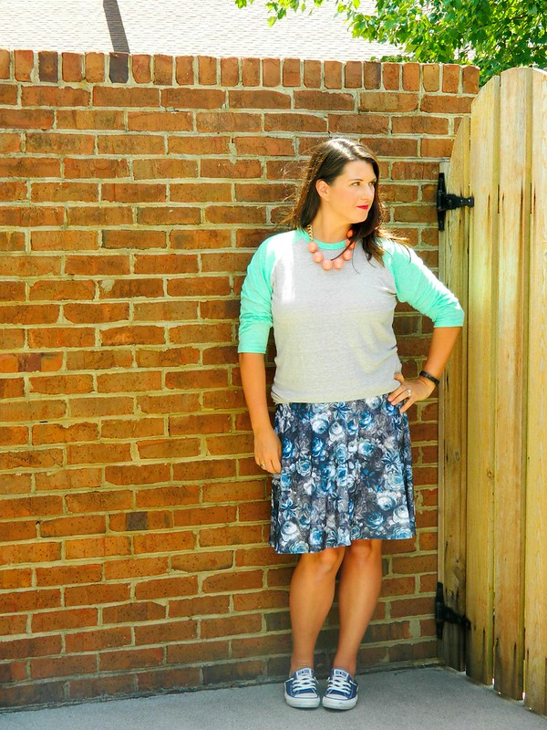 Lularoe Azure Skirt And Randy Tee Click Here To Shop Converse