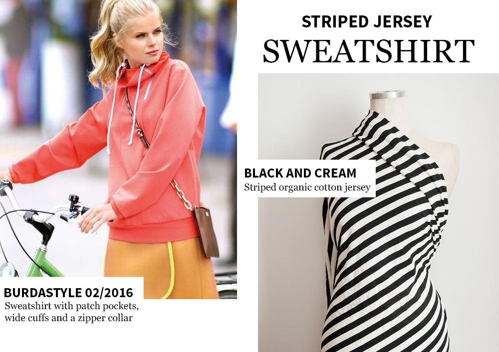 Burdastyle zipped sweater