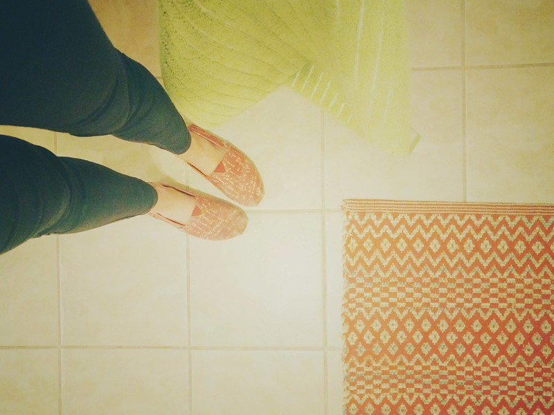 127. Where I stand. Cleaning all the things today. #cy365 #365 #365project #whereistand #toms #calculustoms