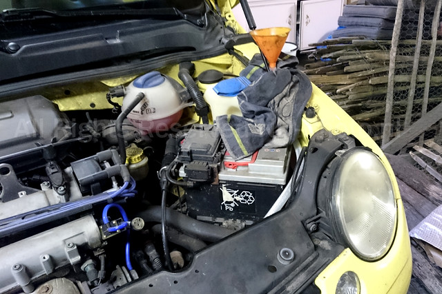 VW Lupo 1.4 - DIY Transmission Fluid / Oil Change
