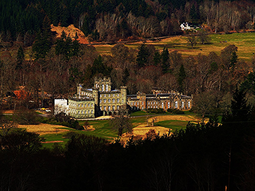 Taymouth Castle, Kenmore, Scotland.