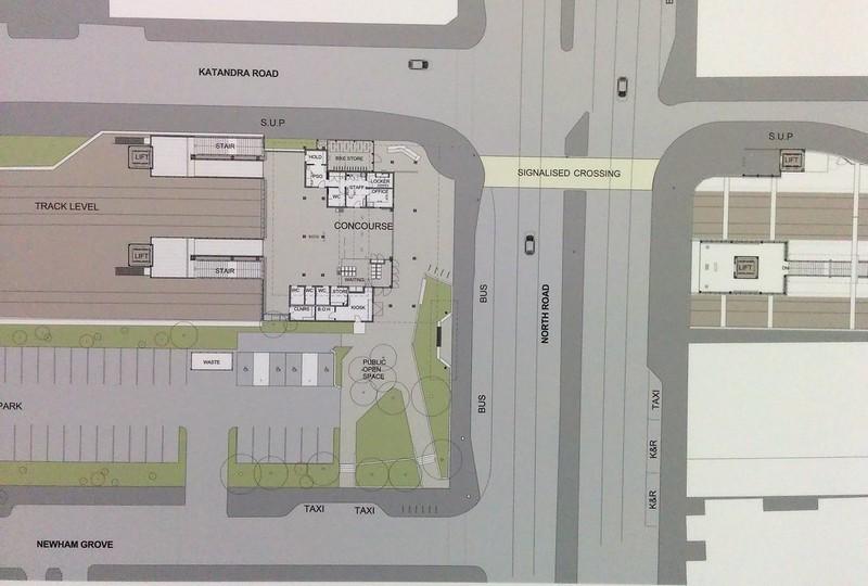 Ormond station plan