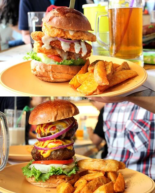 28060482605 0c94ce06d7 z - [台中]牛逼洋行--超級無敵厚的漢堡,真的無法一口咬下啊!@自立街 西區(已歇業)