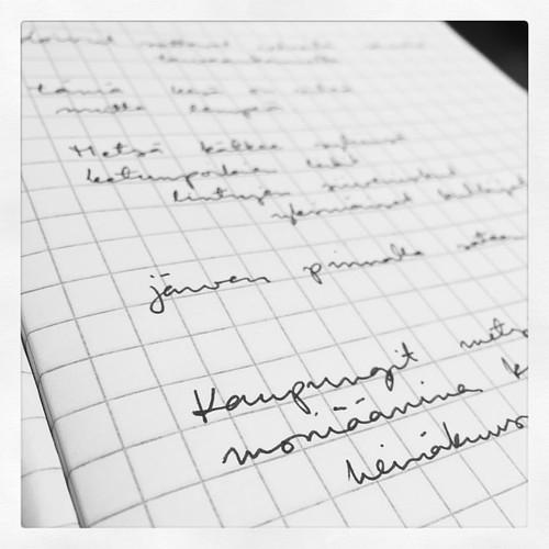 Runopiha. Runotiskihommat. Nicolas Kivilinna. <3 #latergram #runopiha #viitapiiri #kirjoittaminen #writing #poetry #runous #100happydays 36/100