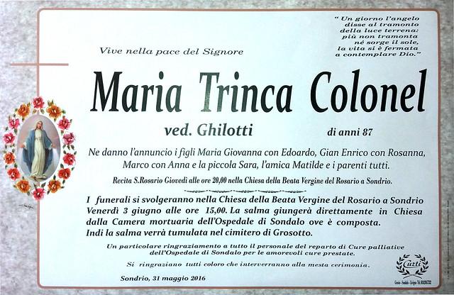 Maria Trinca Colonel