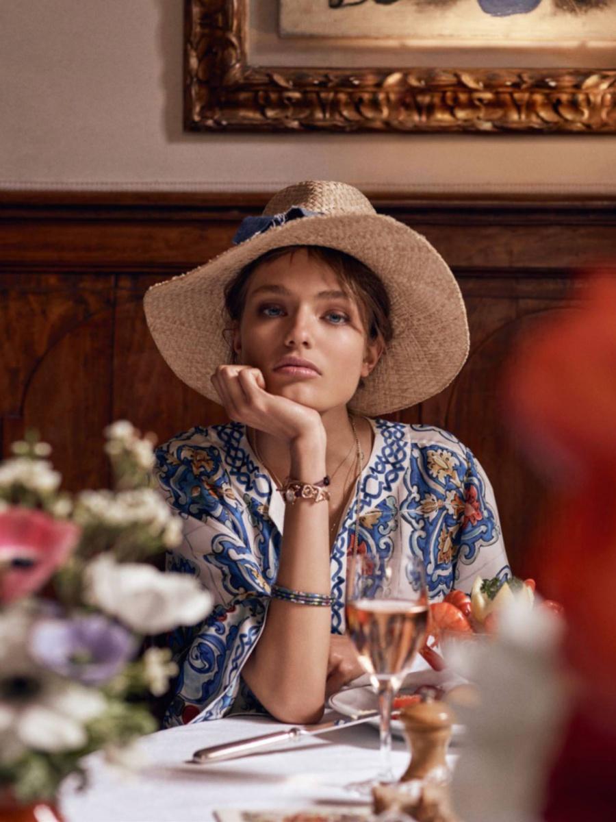 Anna Mila Guyenz By Mikael Jansson For Vogue Paris July 2016