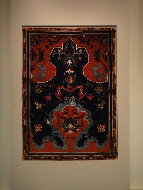 Tapestry in Pergamon Museum