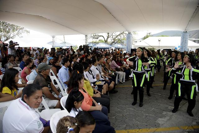 Festival del Buen Vivir y Gobernando con la gente, San Marcos