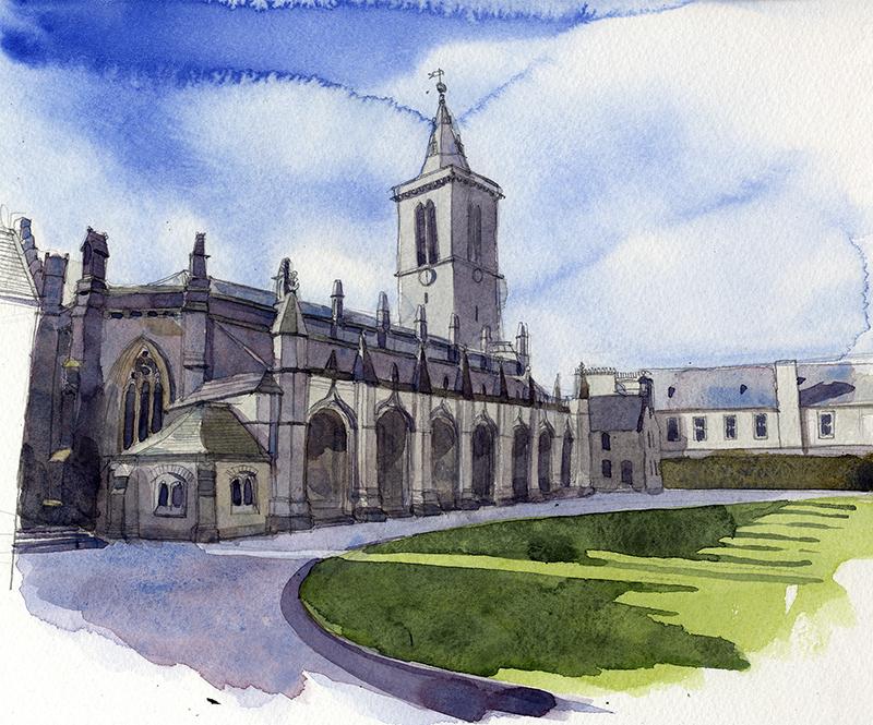 St Salvators Quadrangle St Andrews