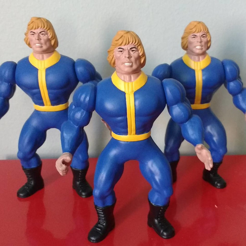 Custom action figures by Stolf - Fallout He-Man