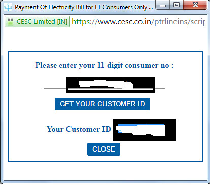 cesc online bill payment registration