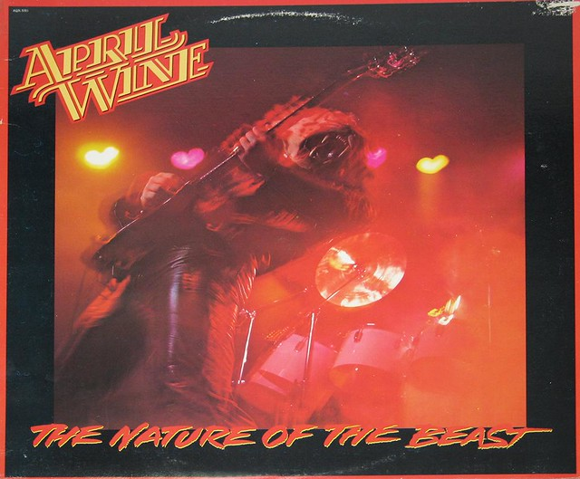 APRIL WINE THE NATURE OF THE BEAST + POSTER