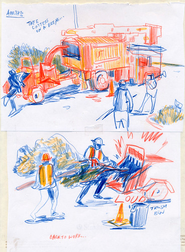 Sketchbook #96: Tree Cutters