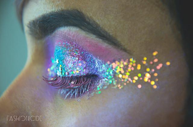 Intergalactic Glitter Explosion Makeup 10_