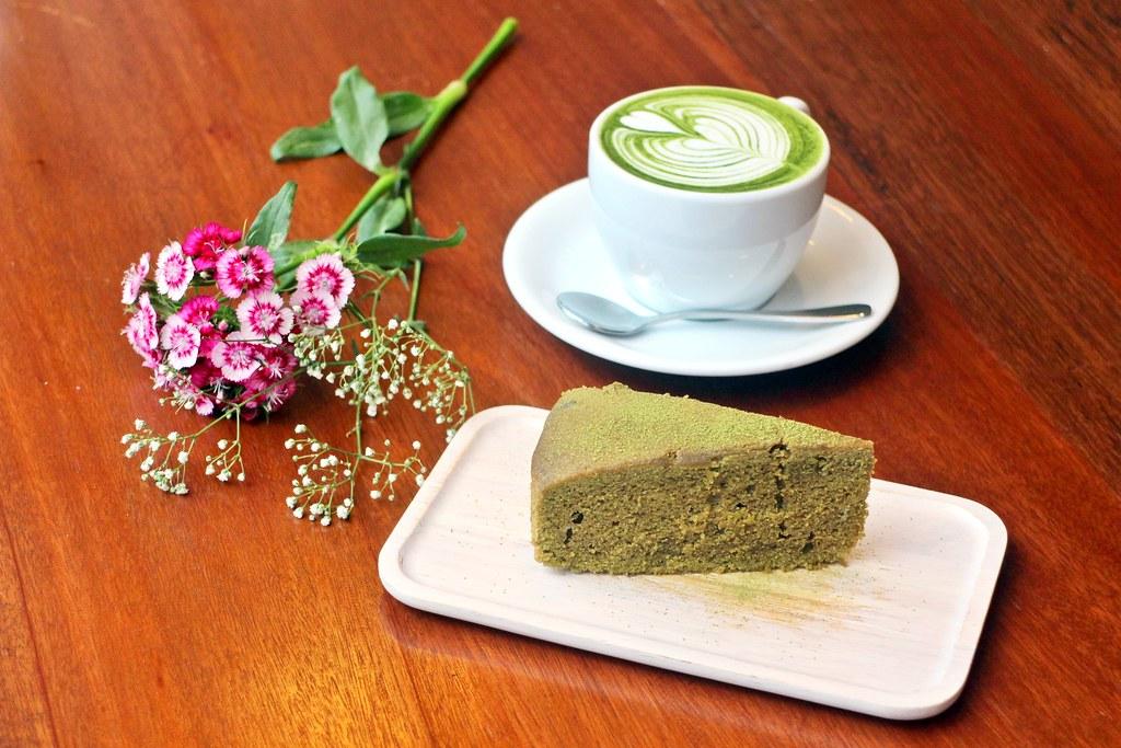 Matcha Johor Bahru: Sweet Blossom Coffee Green Tea Pound Cake