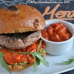 Riesenchampignon-Burger