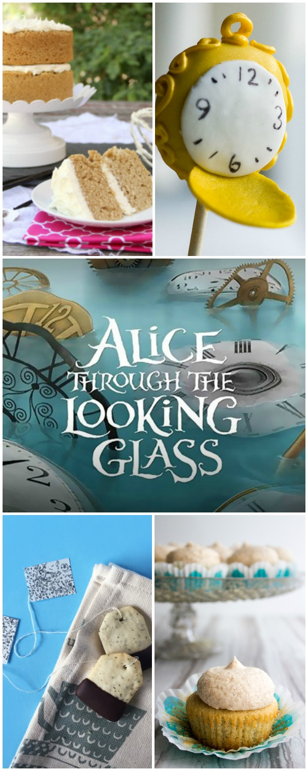 Alice Through the Looking Glass inspired recipes and crafts