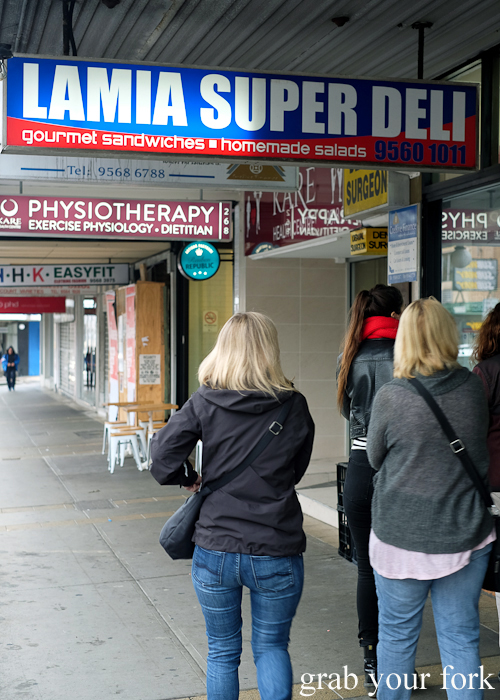 Lamia Super Deli on the Community Kouzina Marrickville Food Tour for Open Marrickville