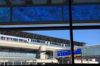 SFO Terminal 2 - Norie Sato glass enamel