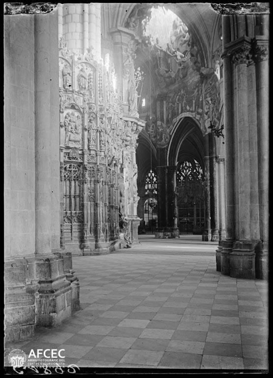 Transparente de la Catedral de Toledo a comienzos del siglo XX. Autor Desconocido   © Centre Excursionista de Catalunya