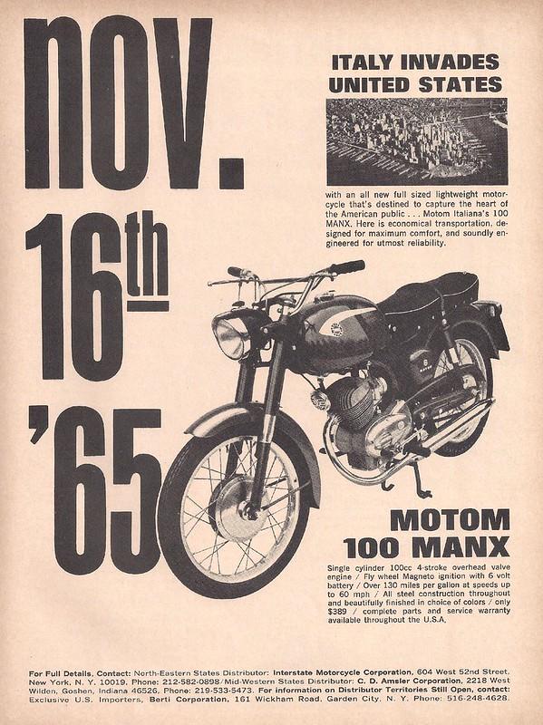 Motom 100 Manx