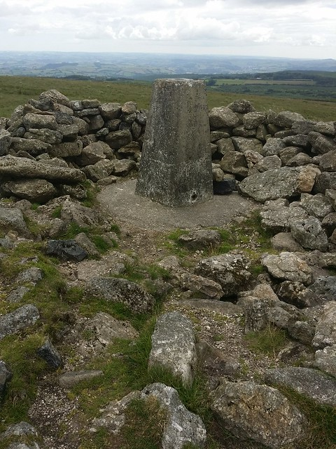 Trig on Rippon Tor, Dartmoor