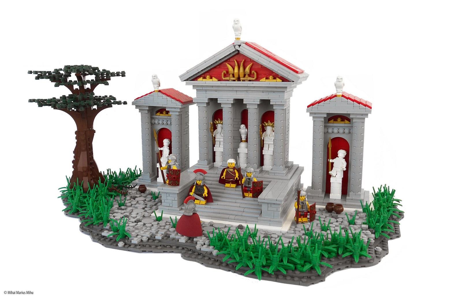 Temple Arrival