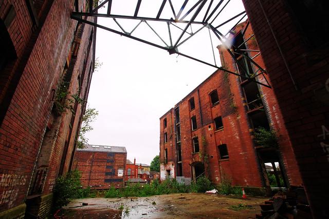 Saville Mill, Shiffnall Street, Bolton