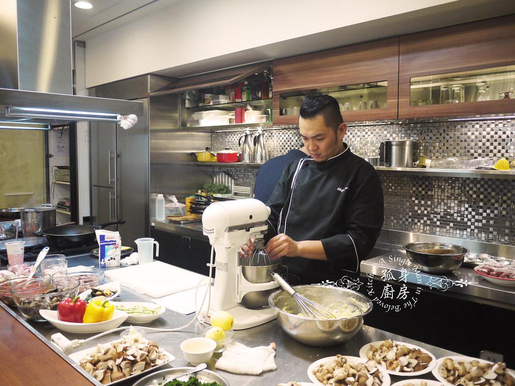 孤身廚房-夏廚工坊賞味班-Marco老師的《地中海超澎湃視覺海鮮》29