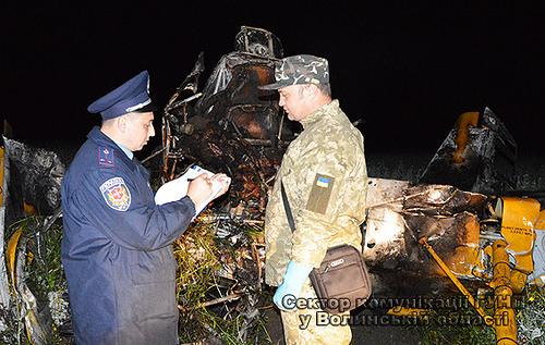 Літак згорів, пілот загинув