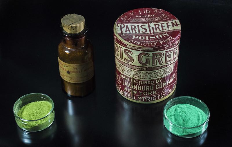 Scheele's Green and Paris Green