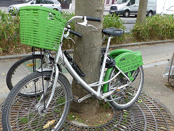 vélo l'hôtel du nord