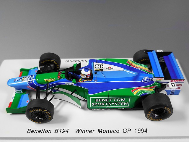 Benetton B194 (Michael Schumacher) Monaco GP 1994