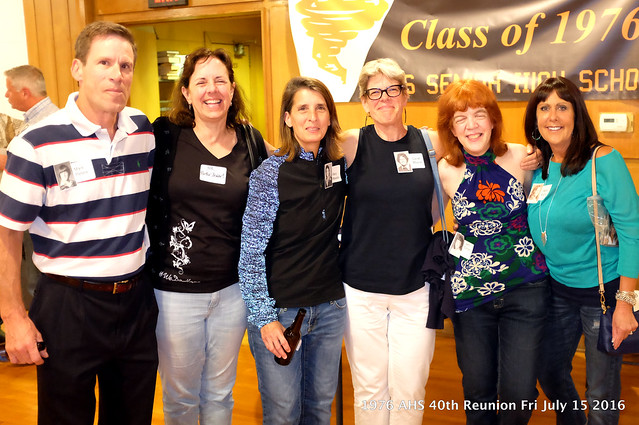 1976 AHS 40th Reunion Fri July 15 2016