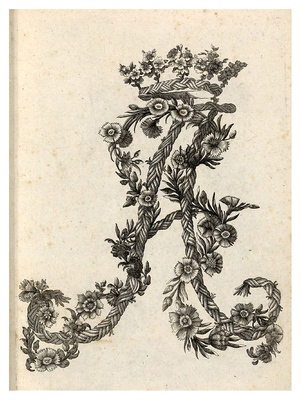 001-Letra A-Alphabet orné 1760 -BNF-Gallica