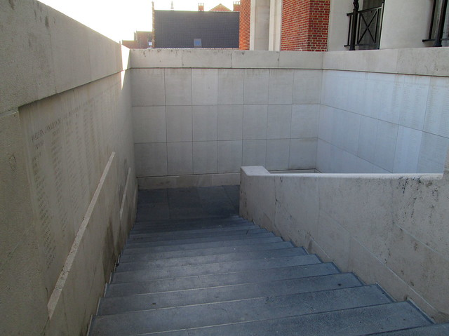 Menin Gate Stairs