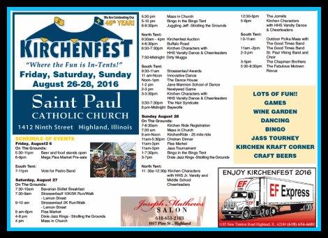 Kirchenfest 2016