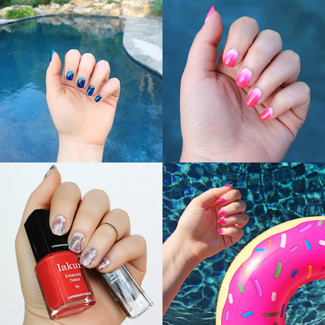 June Summer Manicure Nails Inspiration | Beauty on Living After MIdnite
