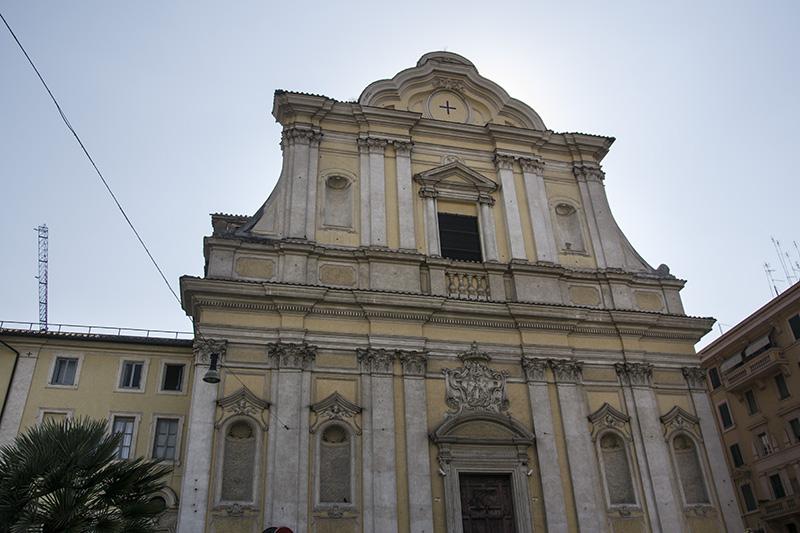 Rome Santa Maria delle Grazie alle Fornaci