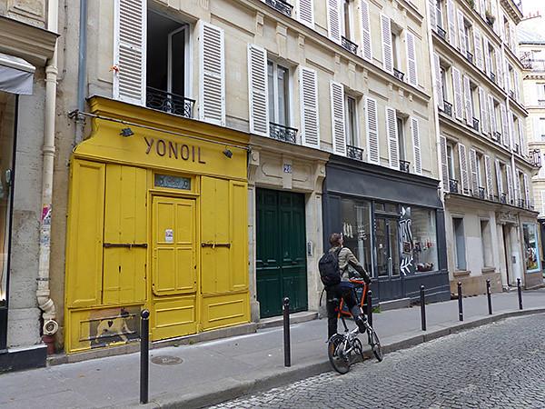 À Paris, en vélo