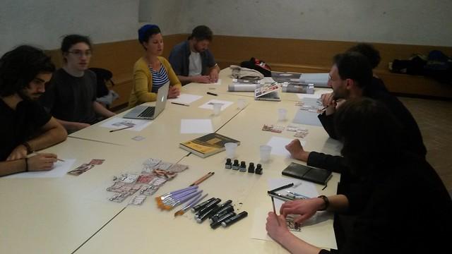 laboratorio Fumetto e cartografia emozionale