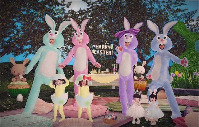 The Family OZ - Easter 2015