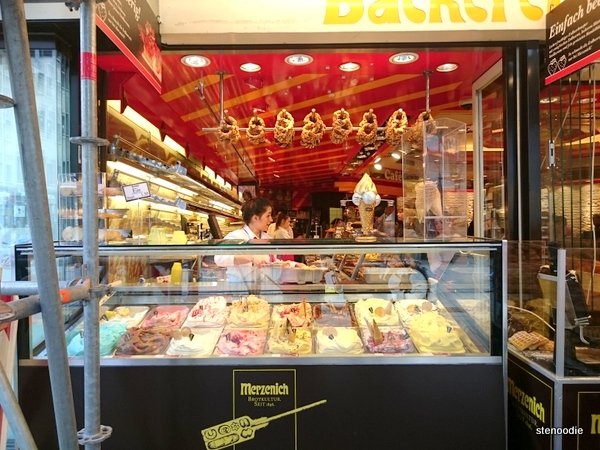Merzenich Cafe Haus gelato