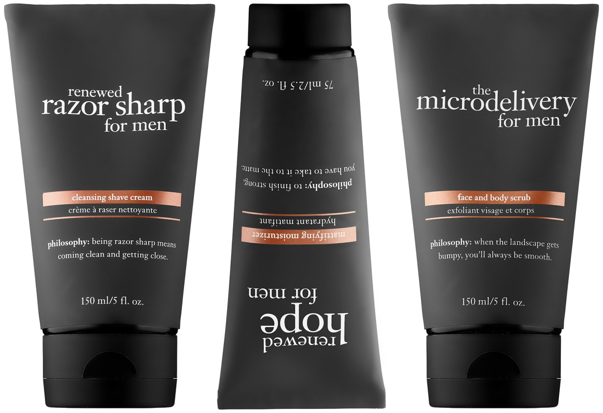 Philosophy's Multi-benefit Skincare Line for Men